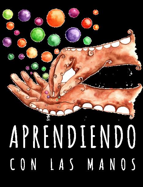 Aprendiendo con las manos Logo